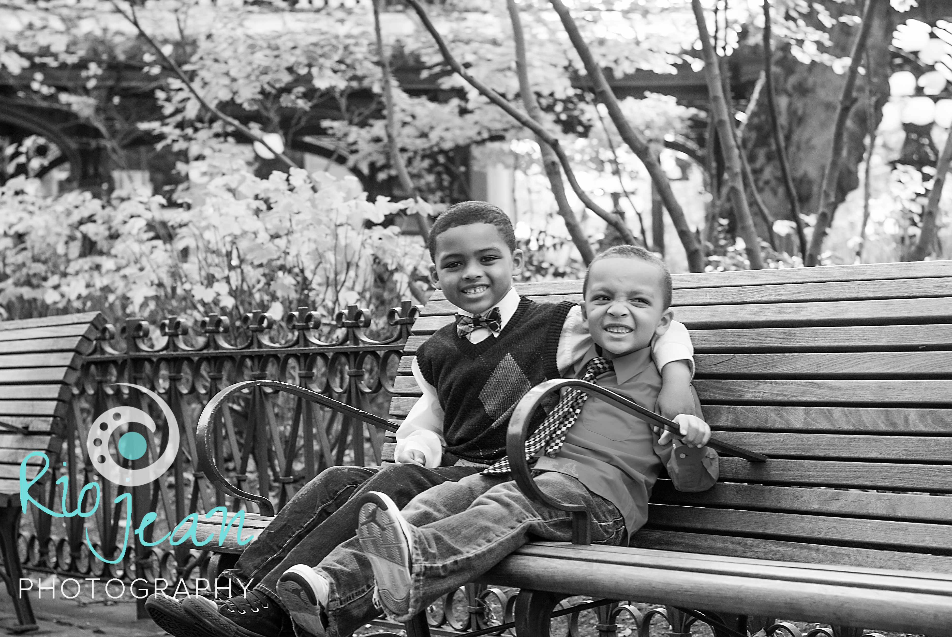 brothers-sitting-on-a-bench