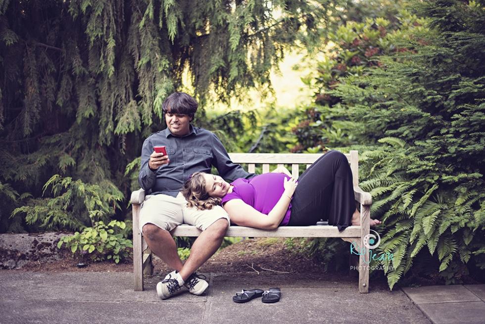 Maternity Couple Bellevue, WA