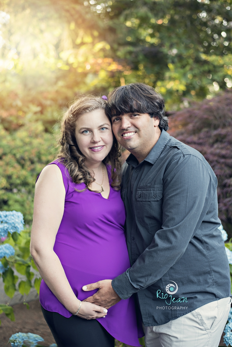 Maternity Couple Bellevue, WA