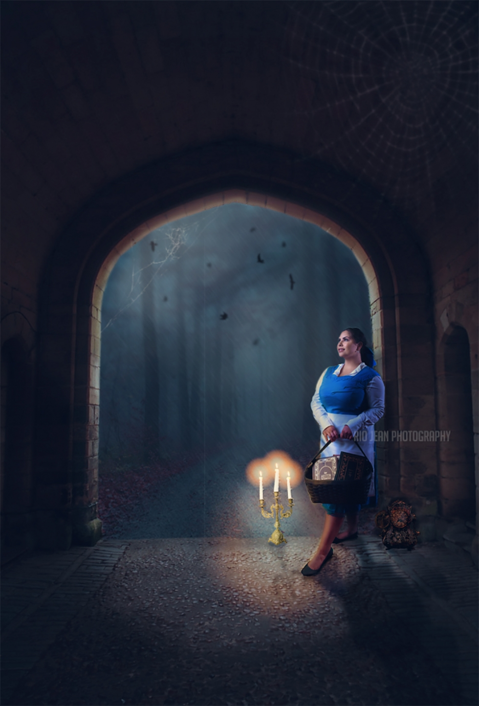 Provincial Belle Themed Photoshoot Beauty and the Beast