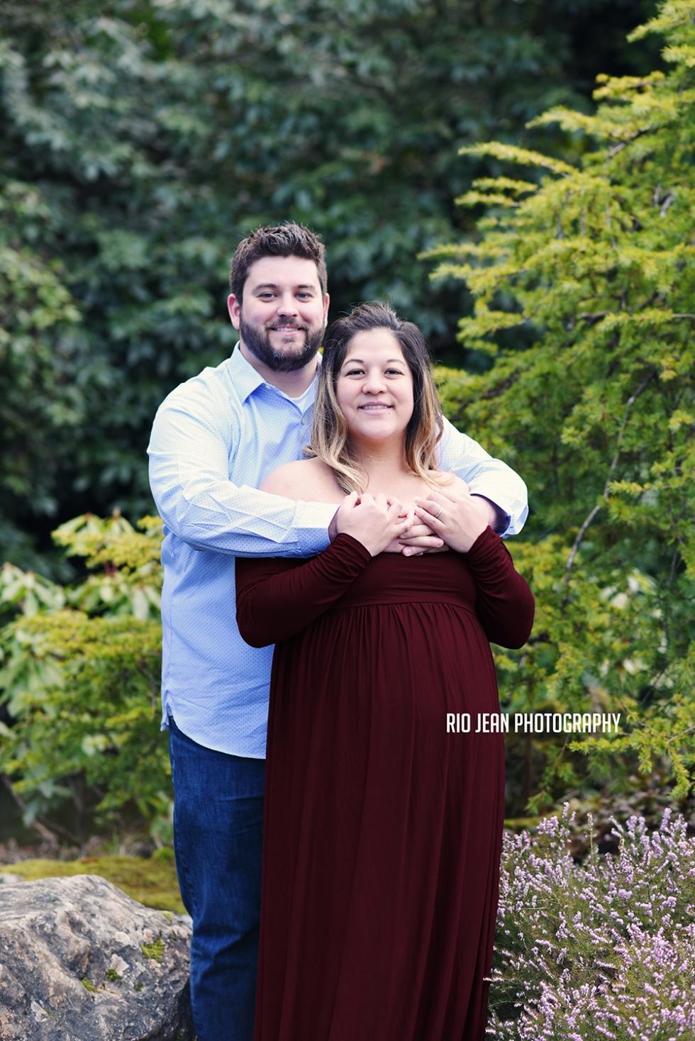 Maroon Maternity Dress